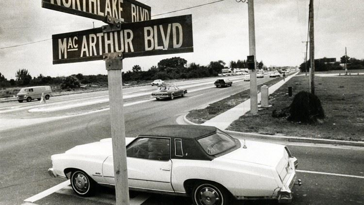 Picture of MacArthur Blvd and Northlake Blvd intersection