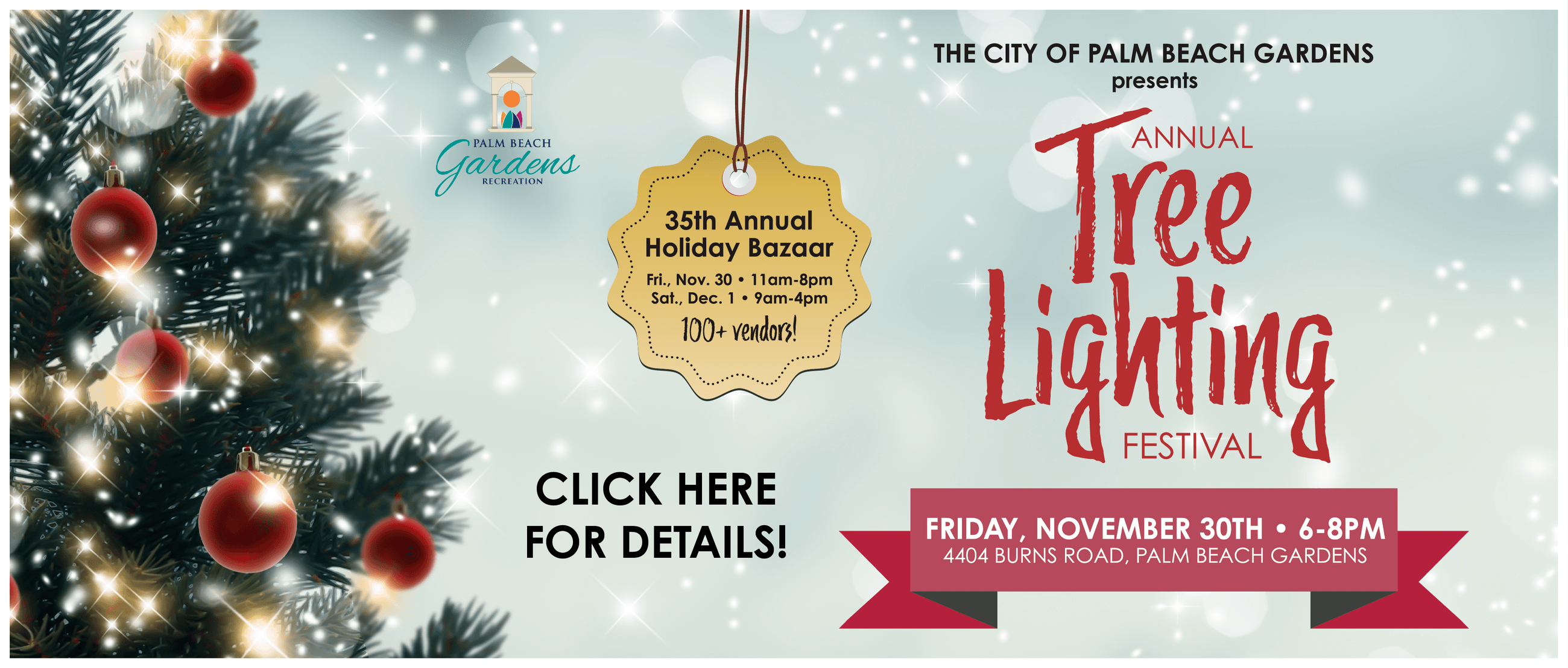 Click here for information on the 2018 Annual Tree Lighting event