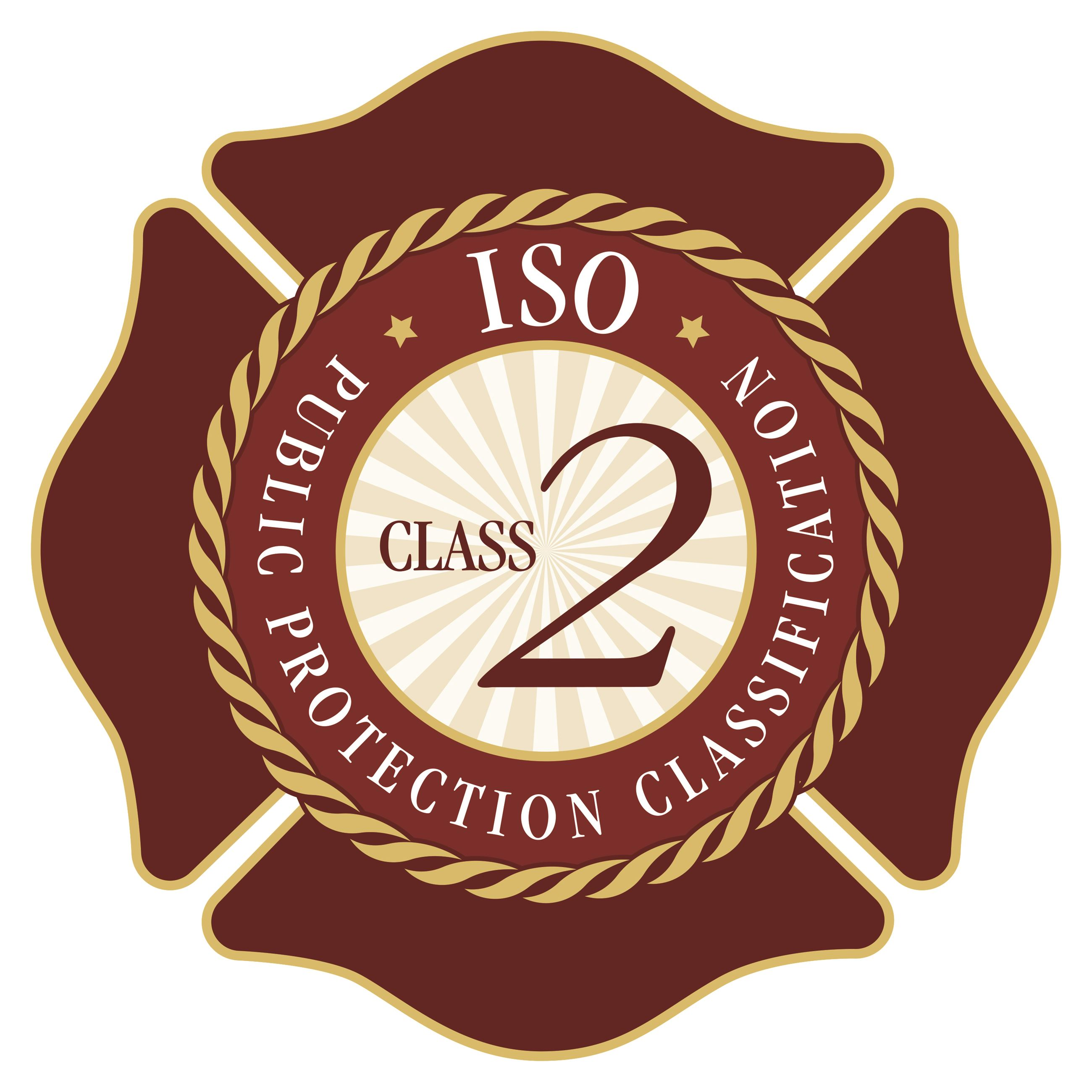 ISO Public Protection Classification. Class 2.