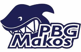 Swim Team Swimmer Pbg Makos Logo