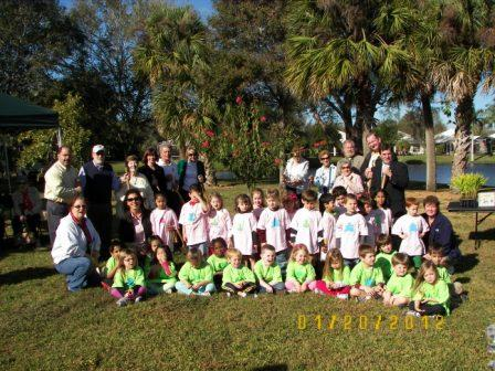 Arbor Day 2012 - Riverside Youth Enrichment Center